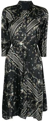 AllSaints Maia midi dress