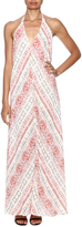 Olivaceous Red Print Maxi