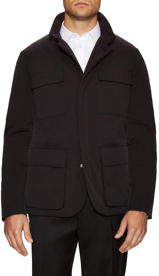 Canali Men's Quilted Field Jacket