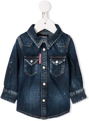 DSQUARED2 Washed Denim Shirt