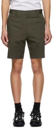 Fendi Green Plain Shorts
