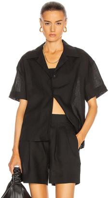ASCENO The Prague Shirt in Black | FWRD