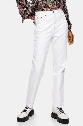 Topshop Off White Jeans