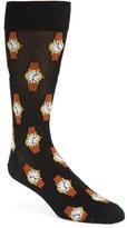 Hot Sox Men's 'Wristwatch' Socks