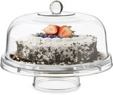 DailywareTM Glass 6-in-1 Footed Cake Dome