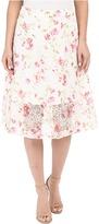 Kensie Floral Organza Skirt KS5K6224