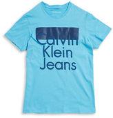Calvin Klein Jeans Boys 8-20 Boys Logo Graphic Tee