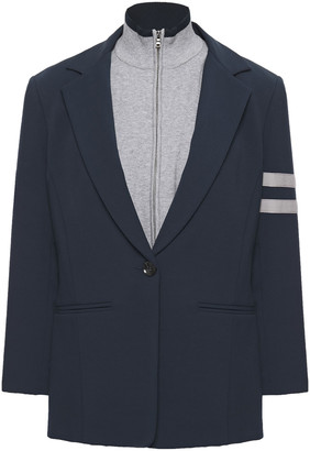Bailey 44 Emerson Convertible Stretch-knit And Cady Blazer