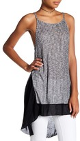 Michelle by Comune Contrast Hem Rib Tank