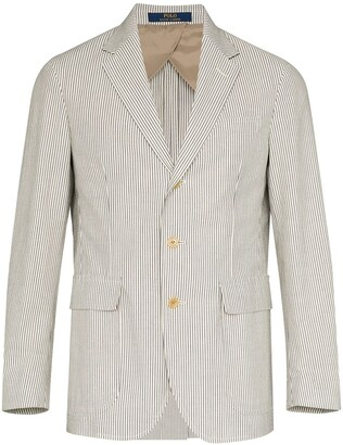 Polo Ralph Lauren Striped Pattern Blazer