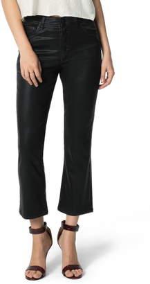 Joe's Jeans The Callie Coated High Waist Crop Flare Jeans