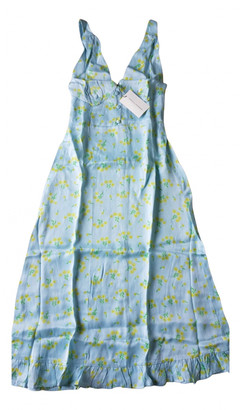 Faithfull The Brand Blue Viscose Dresses