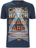 Crosshatch Men's Penn Black Label Print T-Shirt - Midnight