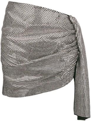 Magda Butrym Gathered Asymmetric Skirt