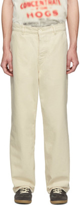 Our Legacy Off-White Carpenter Trousers