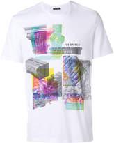 Versace collage print logo T-shirt