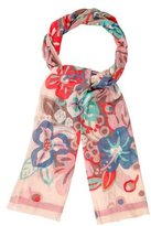 Cacharel Floral Print Scarf