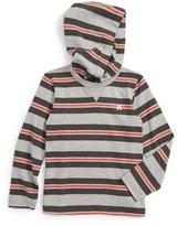 Hurley Stripe Hooded Pullover (Little Boys)