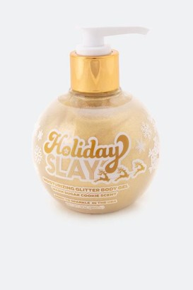 SUNSHINE & Glitter Holiday Slay Moisturizing Gold Glitter Body Gel - Gold
