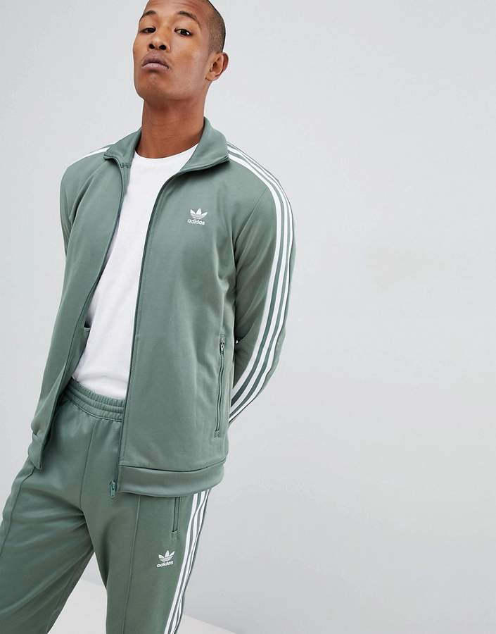adidas Beckenbauer Track Jacket In Green DH5820