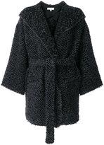 IRO belted robe coat