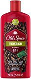 Old Spice Timber with Mint 2in1 Shampoo and Conditioner, 25.3 FL OZ
