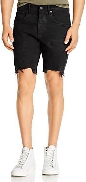 Purple Brand Distressed Skinny Fit Jean Shorts