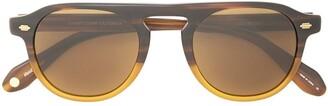 Garrett Leight Harding aviator-style sunglasses
