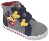 Disney Toddler Boys' Mickey Hi-Top Sneaker - Grey