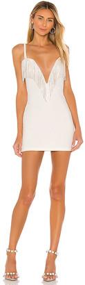 superdown Katey Rhinestone Fringe Dress