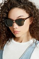 Forever 21 FOREVER 21+ Classic Browline Sunglasses