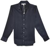 XiRENA Beau Shine Shirt in Twilight Blue
