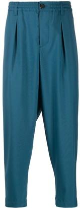 Marni Elasticated Waistband Cropped Trousers