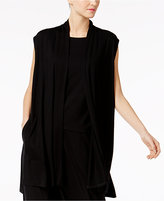 Eileen Fisher Open-Front Vest, Regular & Petite
