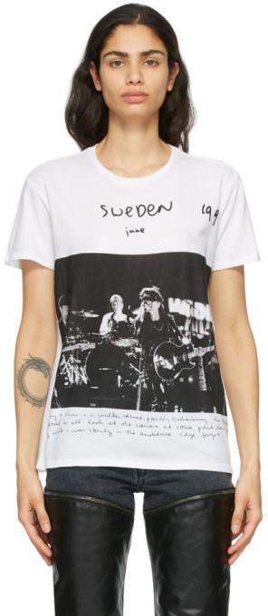 R 13 White Anton Corbijn Edition U2 Sweden Boy T-Shirt