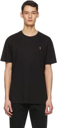 Polo Ralph Lauren Black Classic-Fit Crewneck T-Shirt