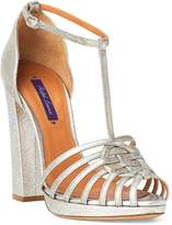Ralph Lauren Marsline Calfskin Sandal