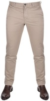 Lacoste Slim Fit Chino Trousers Beige
