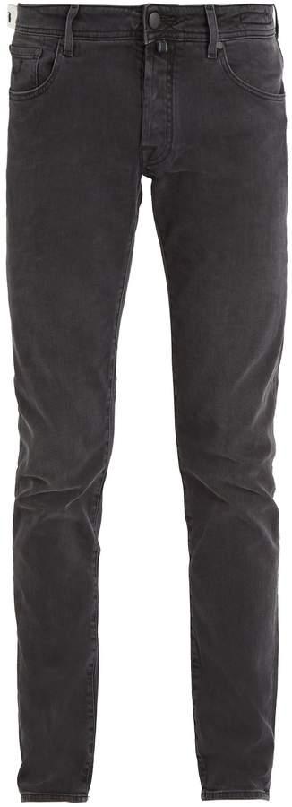 Jacob Cohen Tailored mid-rise slim-leg jeans