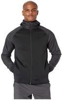 Nike Therma Hoodie Full Zip Winterized (Black/Black) Men's Clothing