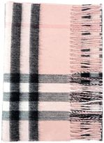 Burberry Metallic Check Scarf 168x300
