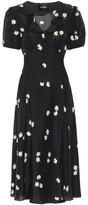 Marc Jacobs The Love floral silk midi dress