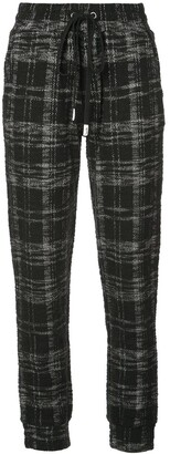 Haculla Signature Eyes tweed joggers
