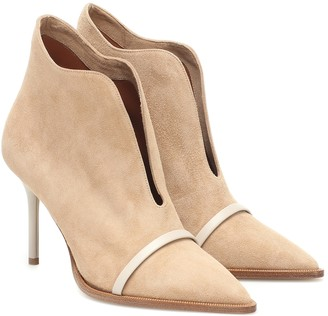 Malone Souliers Cora 85 suede ankle boots