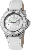 Dolce & Gabbana Men's ANCHOR DW0510 Leather Analog Quartz Watch with Dial