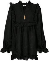 Zimmermann frill bib blouse