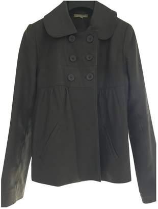 BA&SH Bash Grey Leather Leather jackets