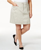 Karen Scott Plus Size Skort, Only at Macy's