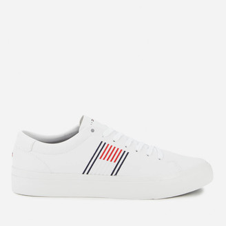 Tommy Hilfiger Men's Corporate Leather Low Top Trainers
