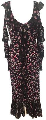 Raquel Diniz Multicolour Silk Dresses